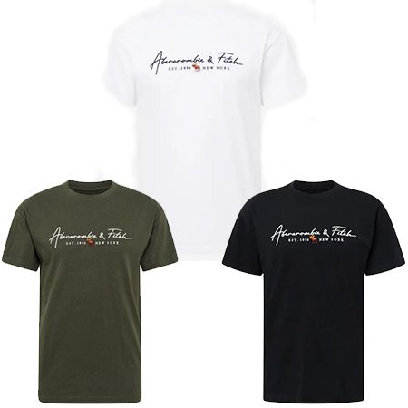 Abercrombie & Fitch T-Shirt in drei Farben für 27,92€ (statt 35€)
