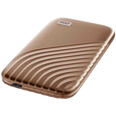 Western Digital – My Passport SSD mit 1TB in Gold für 103,85€ (statt 134€)