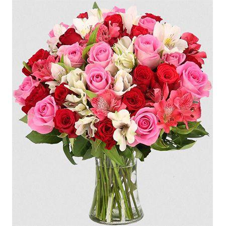 """30 Stiele – Rosenstrauß """"Rosenwunder XXL"""" mit bis zu 100 Blüten für 25,98€ (statt 41€)"""