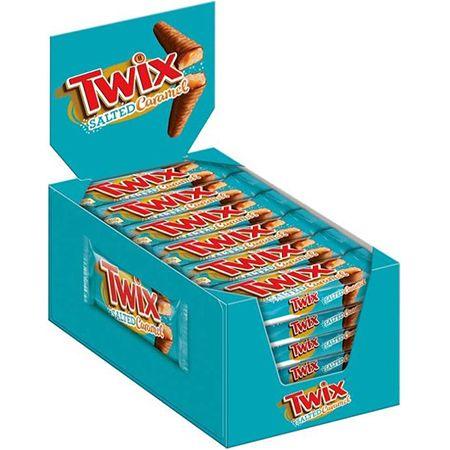 Twix Salted Caramel – 30 Doppelriegel (30 x 46g) für 11,34€ (statt 18€) – Prime