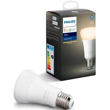 4er Pack Philips Hue White E27 LED Lampe für 37,95€ (statt 60€)