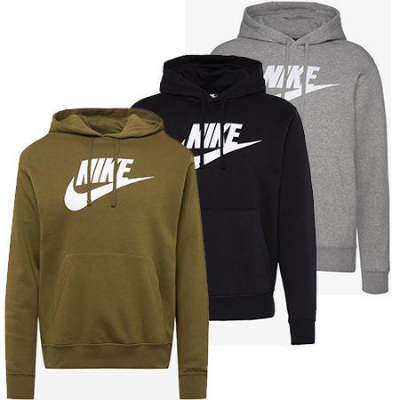 Nike Herren-Hoodie – Sportswear Club in verschiedenen Farben für 43,92€ (statt 59€)