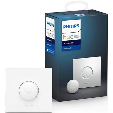 Philips Hue Smart Button – Lichtsteuerung ohne Installation für 19,99€ (statt 35€)