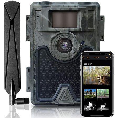 WingHome Wildkamera mit SIM Handyübertragung 24MP für 124,80€ (statt 133€)