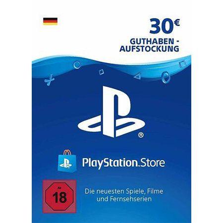 30€ Playstation Guthaben Karte für 23,79€