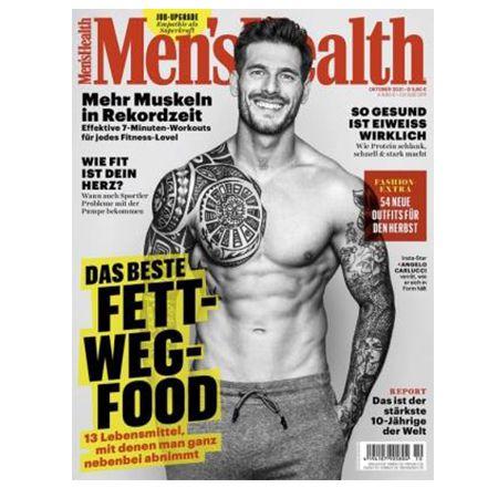 Halbjahresabo Mens Health für 31,50€ – Prämie: 30€ Amazon Gutschein