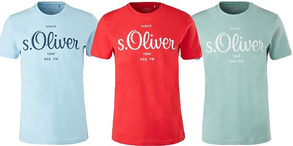 s.Oliver Herren T Shirts in verschiedenen Farben für 7,20€ (statt 10€)   Versandkostenfrei ab 30€
