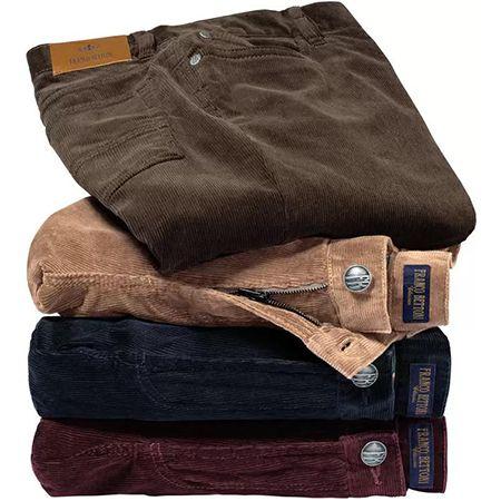 Franco Bettoni – Herren Stretchcord-Jeans in vier Farben + Gratis Kompaktfernglas für 51,99€ (statt 65€)