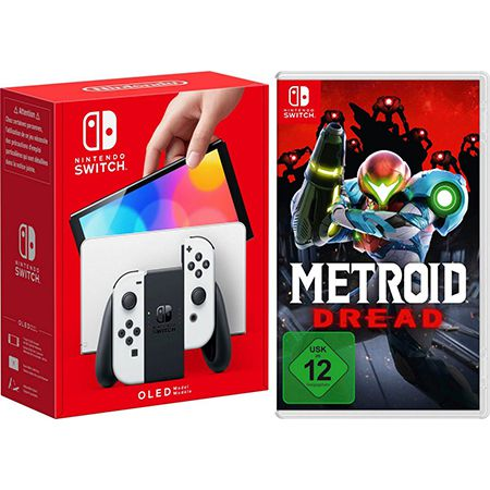 Nintendo Switch – OLED-Modell inkl. Metroid Dread für 364€ (statt 415€)