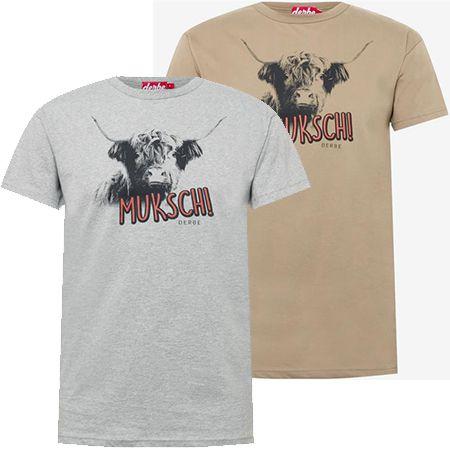 """Derbe Herren T-Shirt """"Muksch"""" in zwei Farben ab 22,32€ (statt 35€)"""