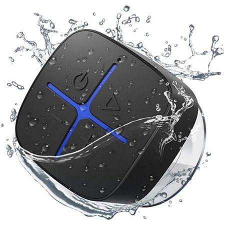 Onforu – Wasserdichter Bluetooth Duschlautsprecher mit Saugnapf für 10,19€ (statt 17€)