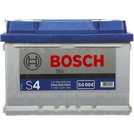 Bosch Starterbatterie – S4 S4004 60Ah/540A für 66,37€ (statt 74€)