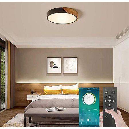 Ssonlun – LED Deckenleuchte Dimmbar mit Fernbedienung für 22,19€ (statt 37€)