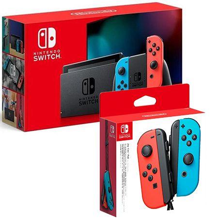 Nintendo Switch + 2er-Set Switch Joy-Controller für 1€ + Vodafone Allnet-Flat mit 15GB LTE für 19,99€ mtl.