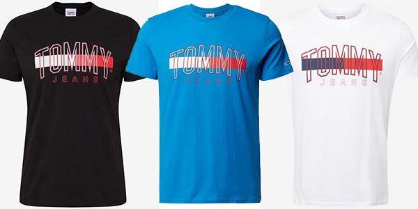 Tommy Jeans T Shirt aus Bio Baumwolle in verschiedenen Farben ab 21,90€ (statt 30€)