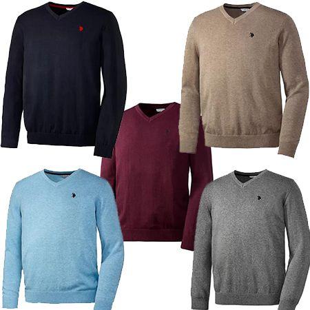 U.S. POLO ASSN. Baumwoll-Pullover für Herren in 5 Farben für 31,19€ (statt 70€)