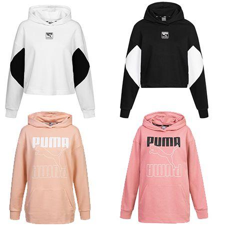 PUMA Rebel – Damen-Hoodie in vier verschiedenen Design für 23,94€ (statt 30€)