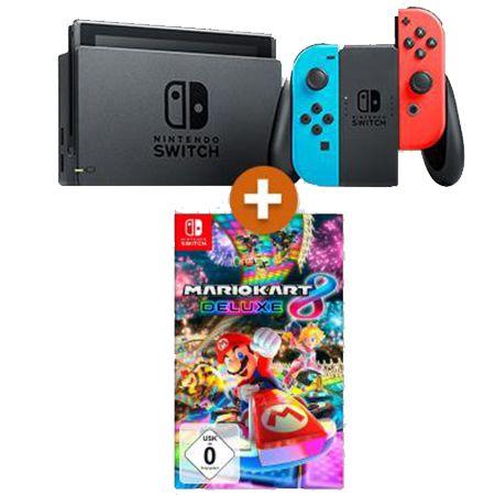 Nintendo Switch + Mario Kart 8 Deluxe für 13,99€ + Telekom Allnet-Flat mit 30GB LTE für 24,99€ mtl.