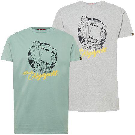 """Derbe """"Abgezockt"""" Herren T-Shirt in zwei Farben für 27,92€ (statt 39€)"""
