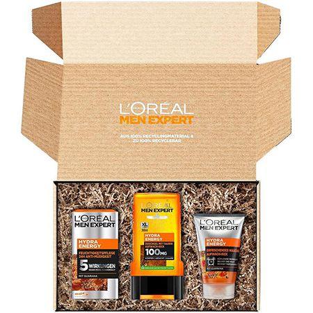 L'Oréal Men Expert 3-teiliges Geschenkset für Männer für 9,56€ (statt 13€) – Prime