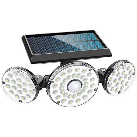 MPJ – LED Solarleuchten für Aussen mit Bewegungsmelder für 13€ (statt 26€)