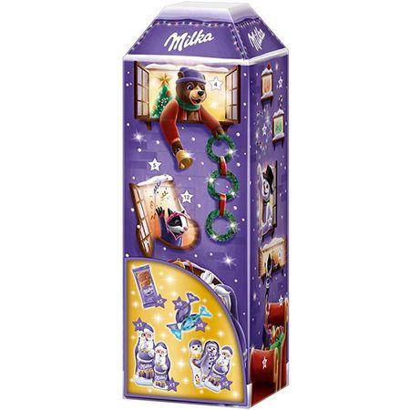 Milka 3D Haus Adventskalender – 229 Gramm für 8,99€ (statt 13€) – Prime