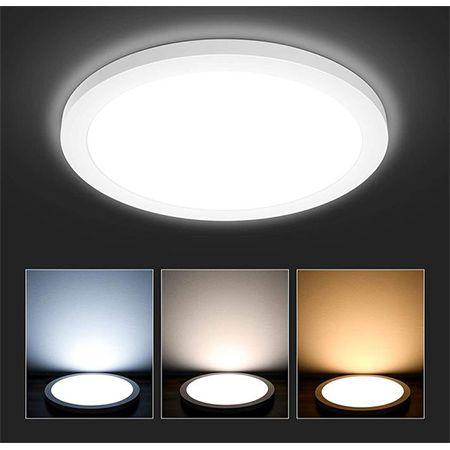 Hidixon LED Deckenleuchte 24W – 3 Farbig für 13,99€ (statt 28€)
