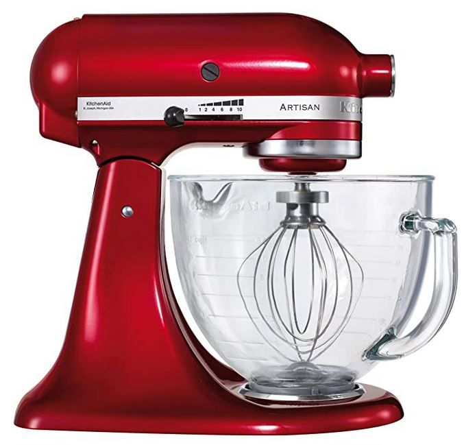 Kitchenaid 5KSM156ECA Artisan Küchenmaschine für 333€ (statt 384€)