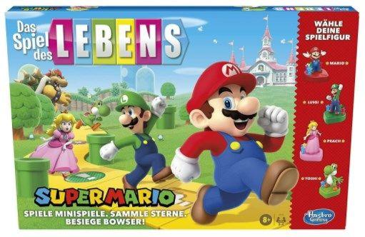 Gesellschaftsspiel Das Spiel des Lebens   Super Mario Edition ab 23,99€ (statt 34€)