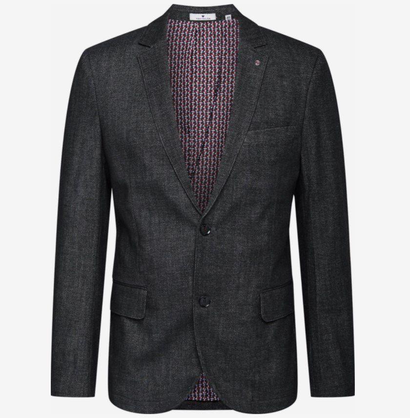 About You Sale Anzüge und Sakkos -20%  – z.B. Tom Tailor Sakko in dunkelgrau ab 67,92€ (statt 85€)