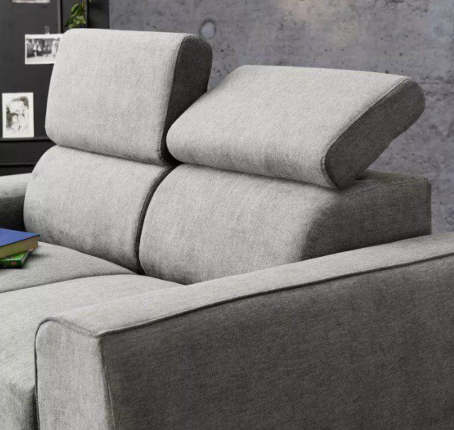 Time Your Style Dreisitzer Sofa in Graphitfarbe für 419€ (statt 708€)