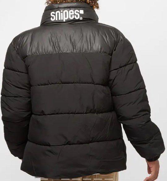 Snipes Small Logo Pufferjacket in Schwarz für 71,99€ statt (90€)