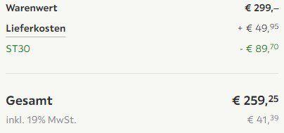 Neff Dunstabzugshaube DED4622X für 259,25€ (statt 334€)