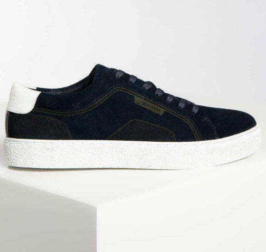 """Calvin Klein Sneaker """"Elliot"""" in der Farbe Navy für 60,95€ (statt 75€)"""
