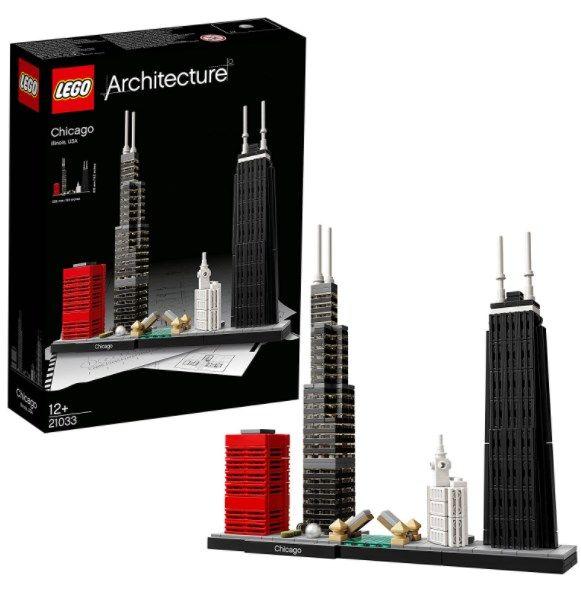 LEGO Architecture 21033 – Chicago für 111,26€ (statt 145€)
