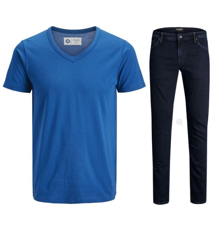 Jeans Direct: 20% Extra Rabatt auf Jack&Jones, Vero Moda & Only z.B. J&J Jeans + T-Shirt für 35,18€ (statt 53,99€) – 30€ mbw