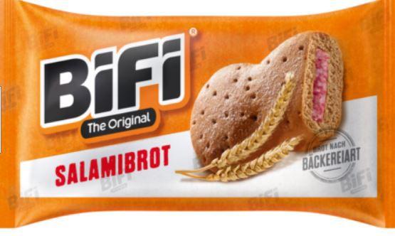 BiFi Original Salamibrot 16 x 55g für 17,81€ (statt 25€) MHD 12/21