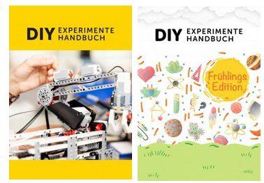 Kostenlos: DIY Experimente Handbücher für Kinder & Jugendliche