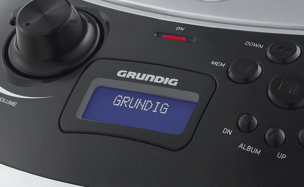 Grundig GRB 4000 Digitalradio (DAB), FM Tuner in verschiedenen Farben für 46,95€ (statt 68€)