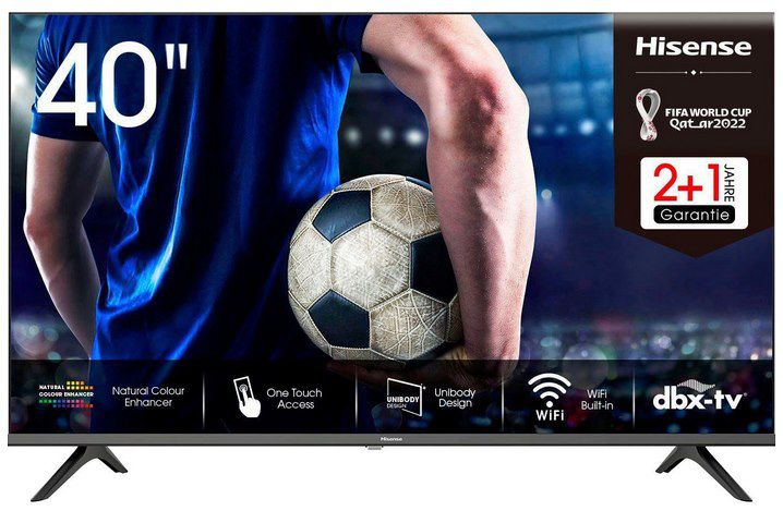 Hisense 40AE5500F   40 Zoll LED Smart TV für 245€ (statt 273€)