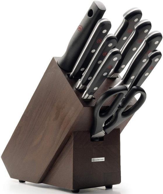 Wüsthof Messerblock Classic mit Holz Block aus Esche   9 teilig für 288,49 (statt 413€)