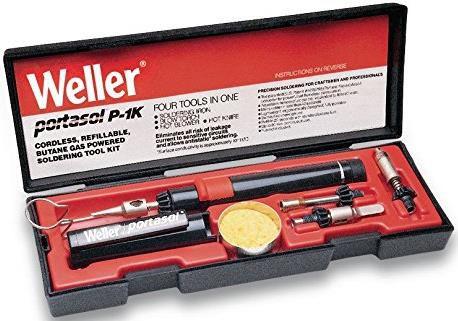 Weller P1K (T0051608499) Schnurloses, Nachfüllbares Portasol Gaslöt Kit für 66,72€ (statt 89€)