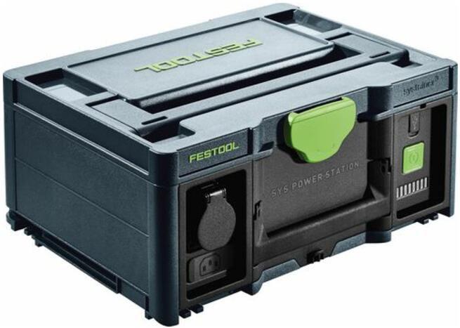 Festool   SYS PowerStation SYS PST 1500 Li HP für 2.438,68€ (statt 2.713€)