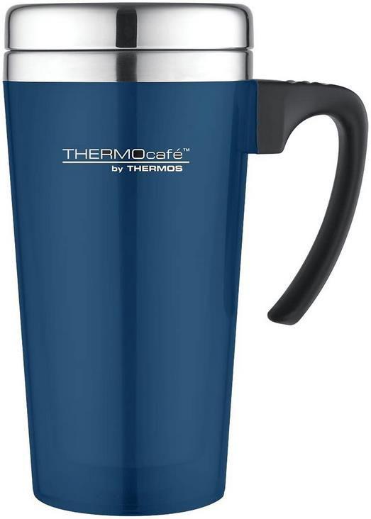 ThermoCafé Thermobecher mit Schiebeverschluss 400ml für 7,47€ (statt 15€)