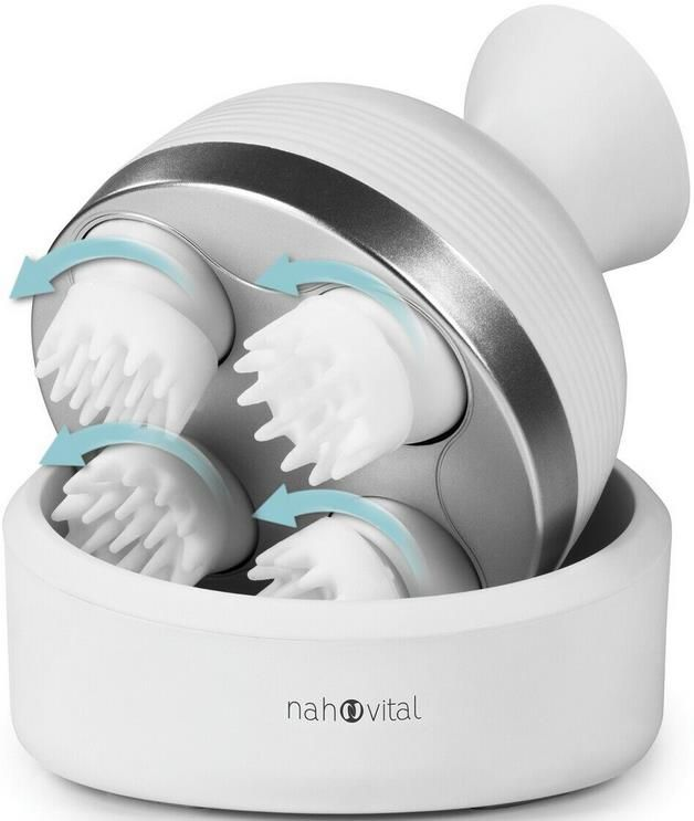 nah vital   elektrisches Kopfmassagegerät mit 360° Rotationsmassage für 24,99€ (statt 35€)