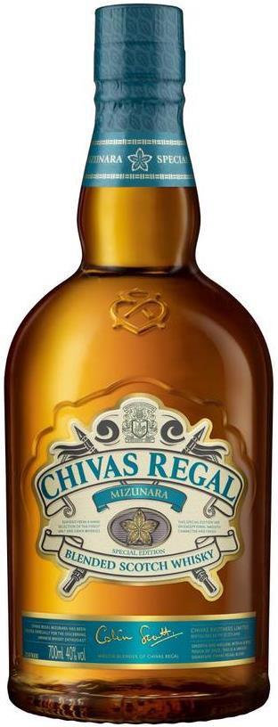 Chivas Regal Blended Scotch Whisky Mizunara 40% 0.7L für 38,90€ (statt 53€)