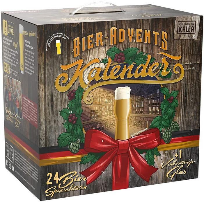 Kalea Bier-Adventskalender – Bierspezialitäten von Privatbrauereien aus Deutschland für 44,49€ (statt 60€)