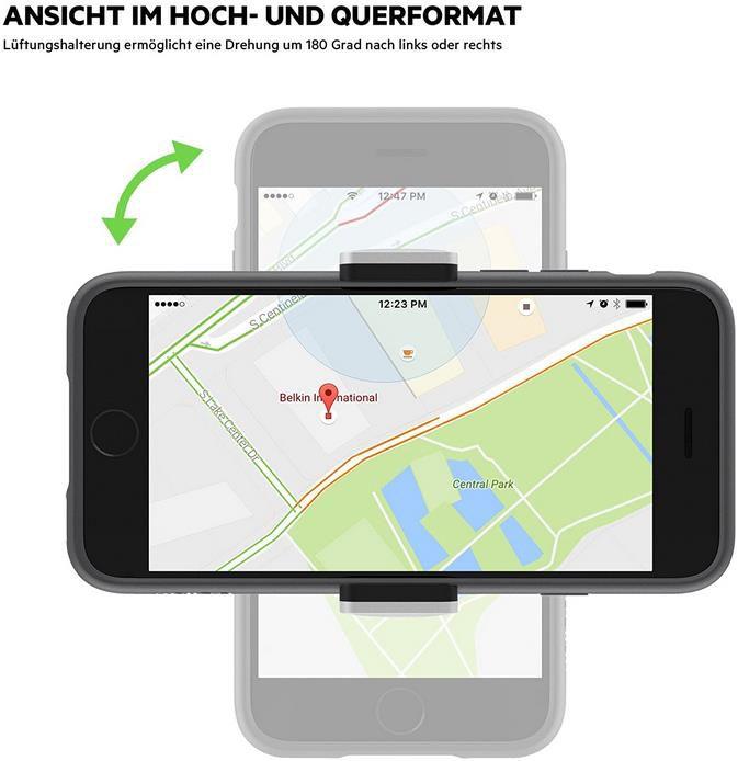 Belkin F7U017BT KFZ Lüftungshalterung für Handys für 9,99€ (statt 17€)