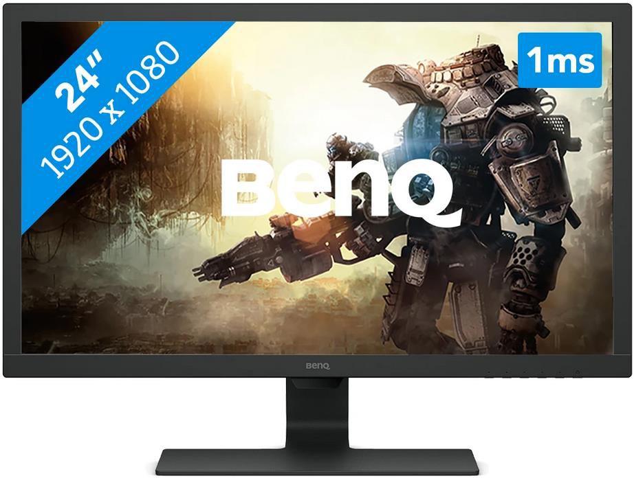 BenQ GL2480   24 Zoll Gaming Monitor, Full HD, 1ms, 75Hz, TN Panel für 109€ (statt 125€)