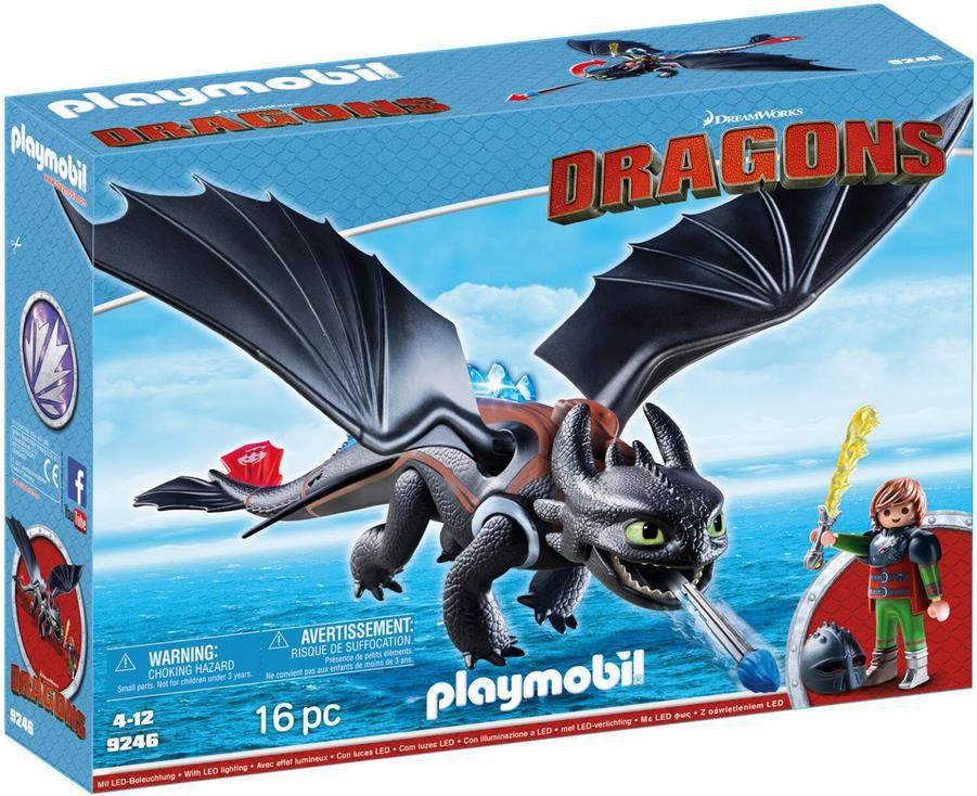 PLAYMOBIL 9246 Dragons   Hicks und Ohnezahn für 25,94€ (statt 38€)